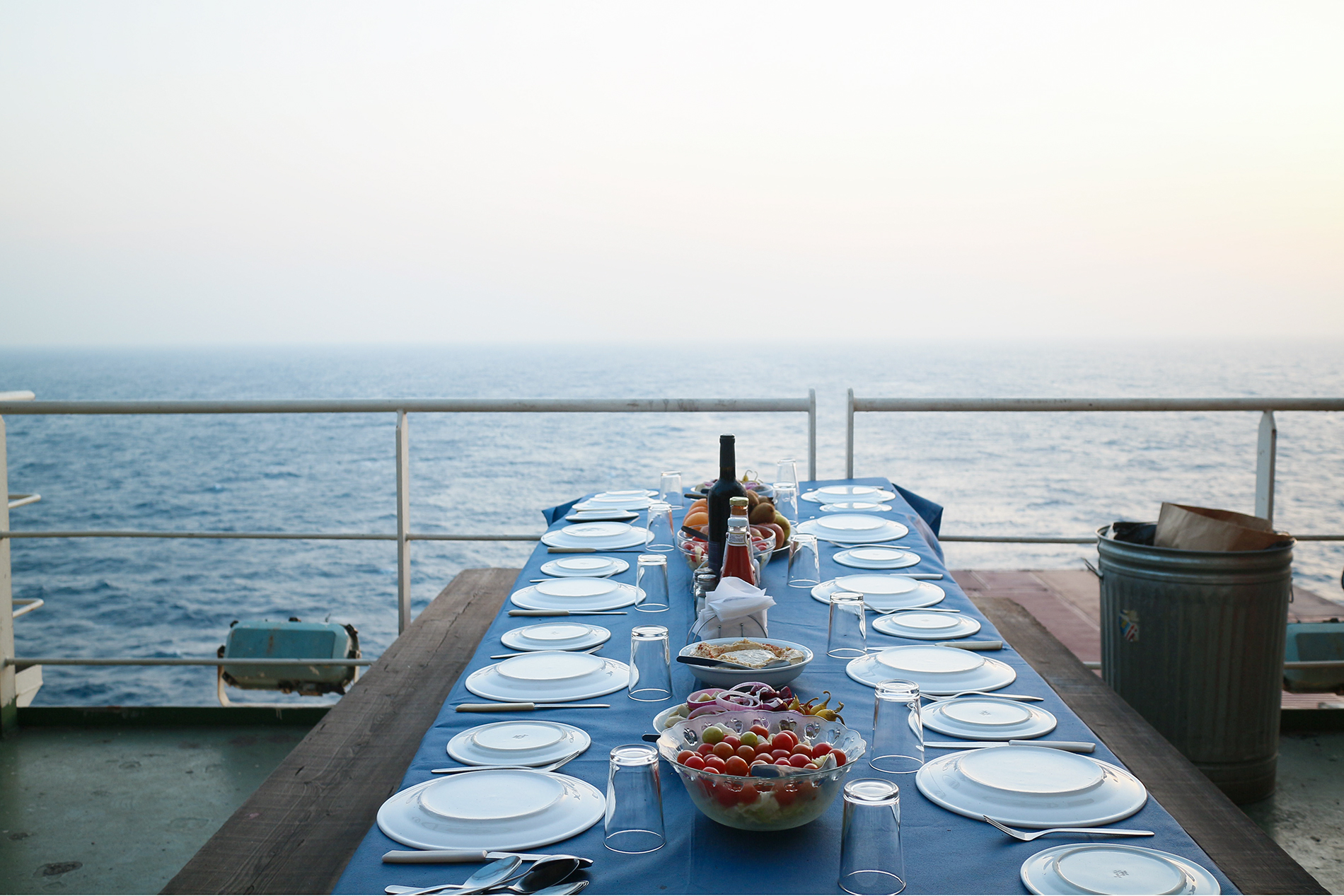 Banquette In The Gulf Of Aden Photo: Mari Bastashevski
