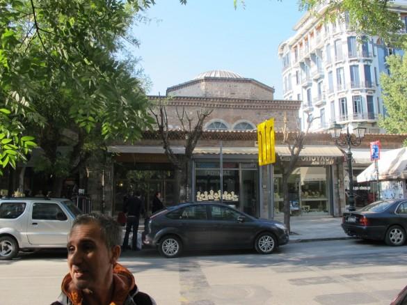 The former Ottoman bazar of the city.