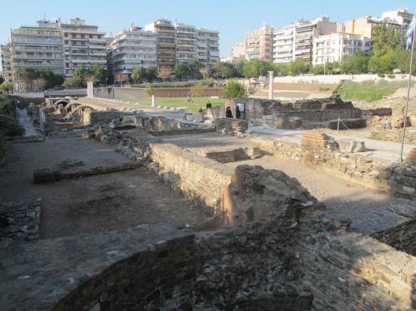 The old Roman market.