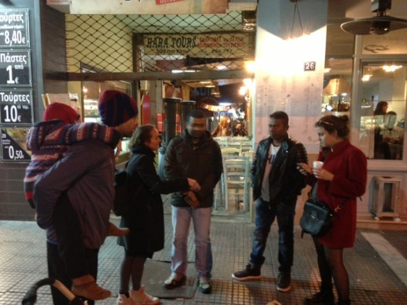 All tours started at the entrance to the Modiano Market.
